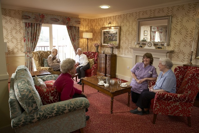 care home lounge